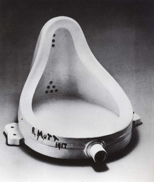Marcel Duchamp Fountain, 1916-17
